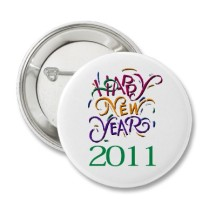 Happy New Year Pins