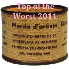 I dieci peggiori album del 2011