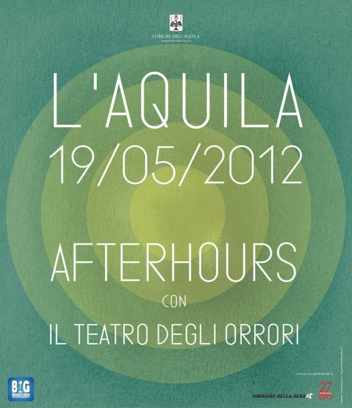 Il terremoto de L'Aquila tra musica e parole