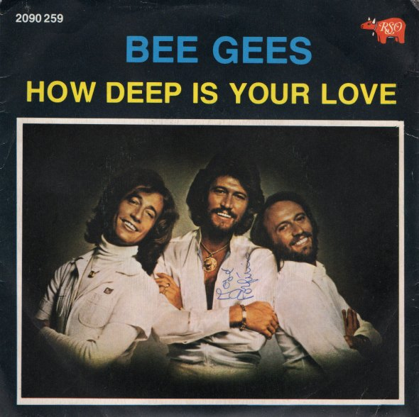 how deep is your love cover