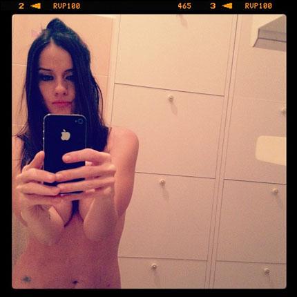 Paola Iezzi sul suo profilo Instagram