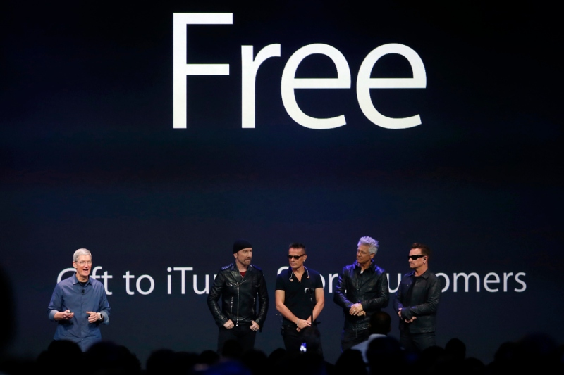 Apple u2 errore comunicativo (fuor di fail)